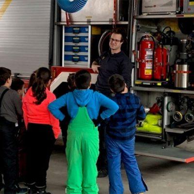 Unterrichtsgang zur Feuerwehr